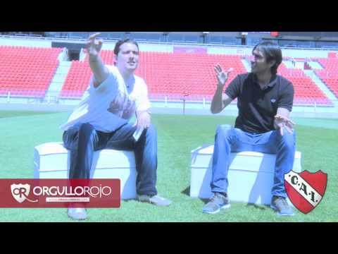 Entrevista Sebastián Rambert - Independiente - OrgulloRojo.com