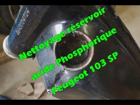 nettoyage r servoir 103 sp l 39 acide phosphorique youtube. Black Bedroom Furniture Sets. Home Design Ideas
