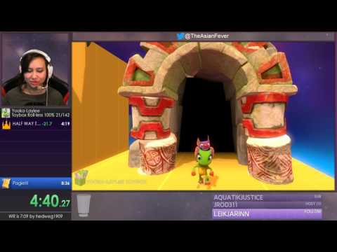 100% Roll-less PB for Yooka-Laylee Toybox - 08:08 |