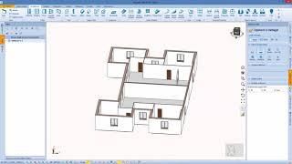 Edificio 2: Profili dei muri, Solai e Pavimenti con Blumatica BIM ArchIT (it)