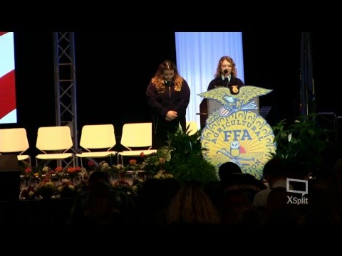 2017 Second General Session Pennsylvania FFA State Convention