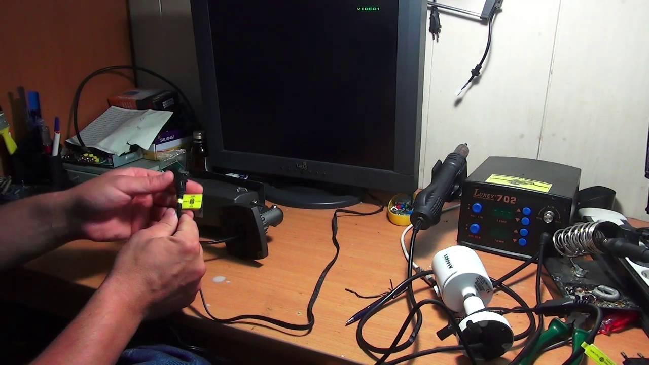 Перевод AHD камер в аналоговый режим и переключение системы цветности