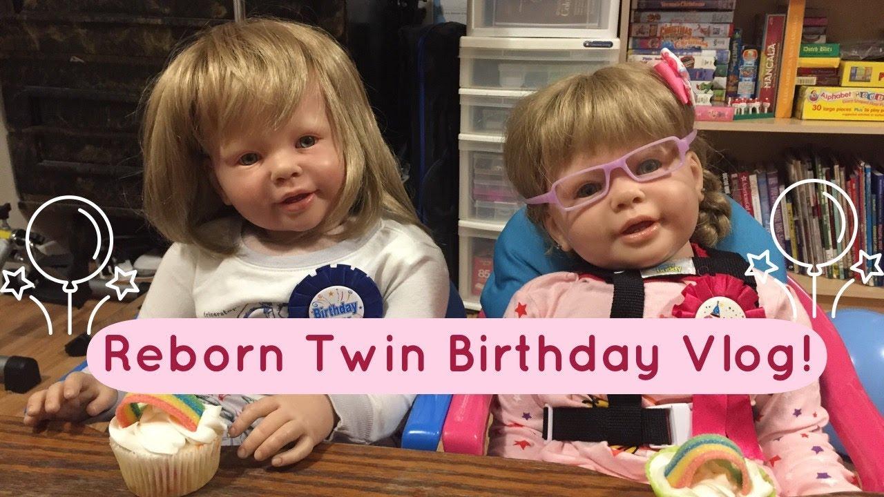 Reborn Toddler Twins Birthday Vlog! - YouTube
