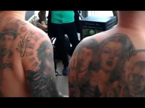 Broliai Maciai nežada sustoti: naujausiai tatuiruotė - brolių Lavrinovičių