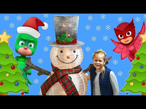 PJ MASKS Disney Assistant Holiday Toy Hunt with Paw Patrol + Vampirina + Puppy Dog Pals