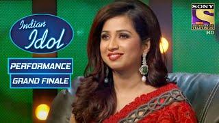 Shreya हुई 'Deva Shree Ganesha Deva' पे Performance से खुश   Indian Idol Season 7   Grand Finale