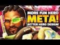 Overwatch - Baptiste and FUTURE HEROES! More FUN meta!