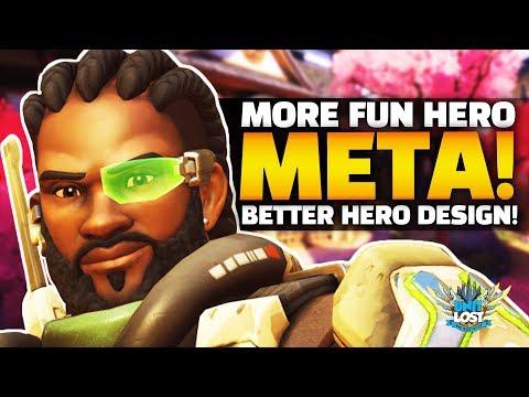 Overwatch - Baptiste and FUTURE HEROES! More FUN meta! thumbnail