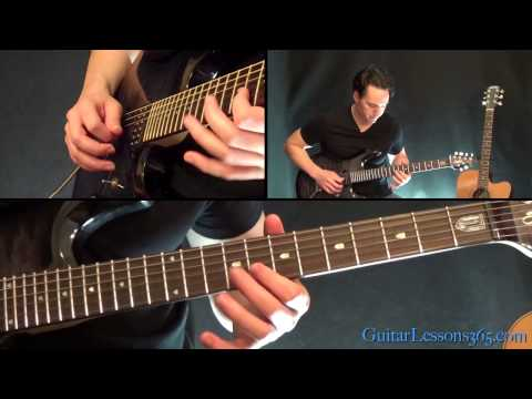 Back In Black Guitar Lesson Pt.2 - AC/DC - Solo
