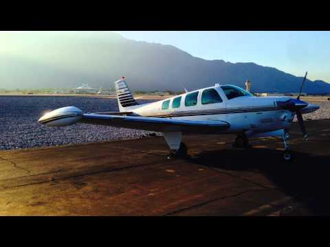 Palm Springs Bonanza Flight