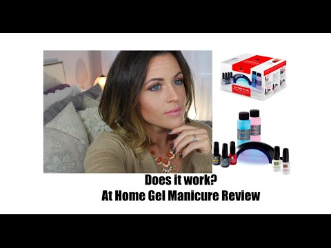 Gel Manicure Review: Does it work? |Red Carpet Pro 45|