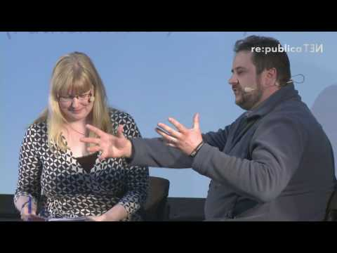 "re:publica 2016 – Katja Evertz, Stefan Martini: Von Spontanhelfern und ""Digital Jedis"" on YouTube"