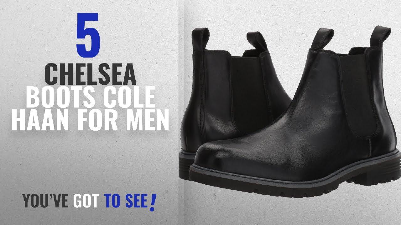 Top 10 Chelsea Boots Cole Haan [ Winter 2018 ]: Cole Haan Men's Grantland  2-Gore Chelsea Waterproof