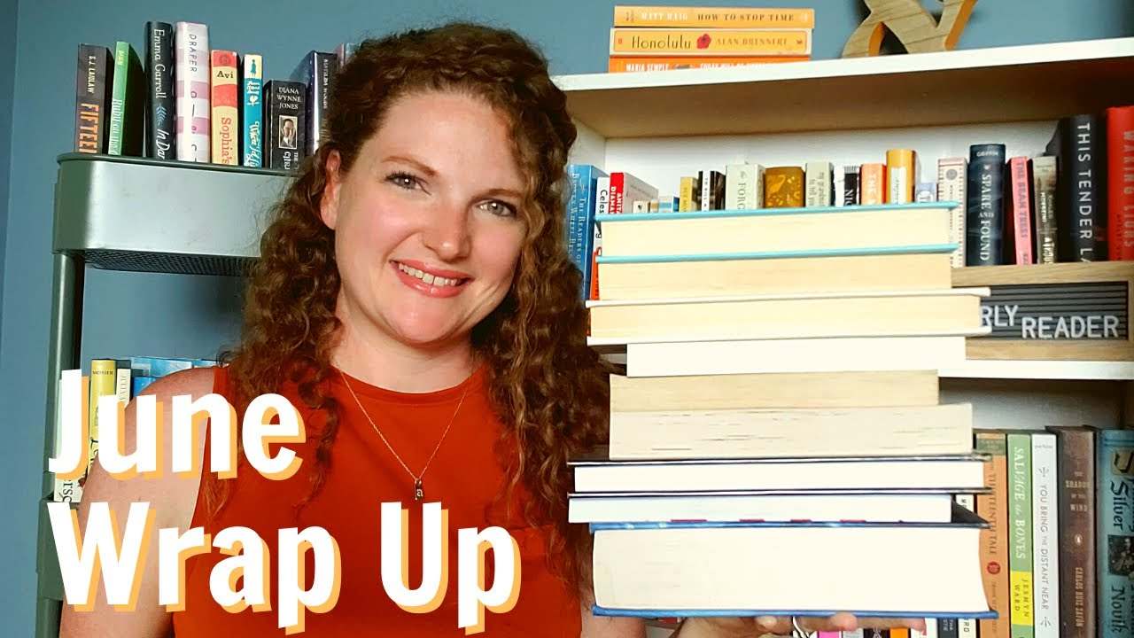 In Which I Talk Too Much About the Books I Read in June | #bookbuddyathon #annealong2020