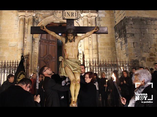 Vídeo: Lucena despide el Año Jubilar de la Misericordia con el solemne Viacrucis Extraordinario del Silencio. Puedes verlo aquí.