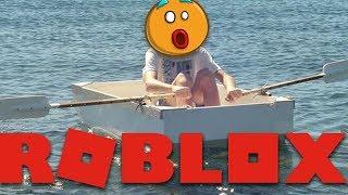 build a boat tie... (Roblox Build A Boat For Treasure with Siana)