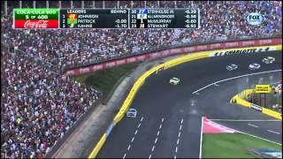 Jimmie Johnson and Danica Patrick 1-2  NASCAR Coke 600