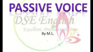 Grammar -  Passive Voice