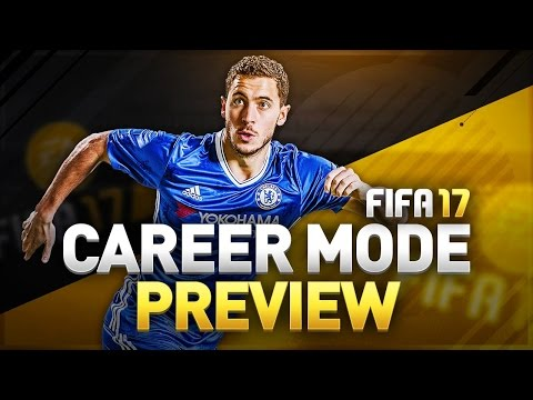 FIFA 17 Career Mode New Features Preview