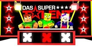 WER wird DAS SUPER TALENT?! - Minecraft TALENT