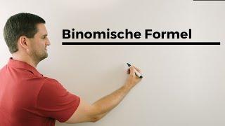 Binomische Formel anschaulich zum Verstehen, viel einfacher als Lernen;) | Mathe by Daniel Jung thumbnail