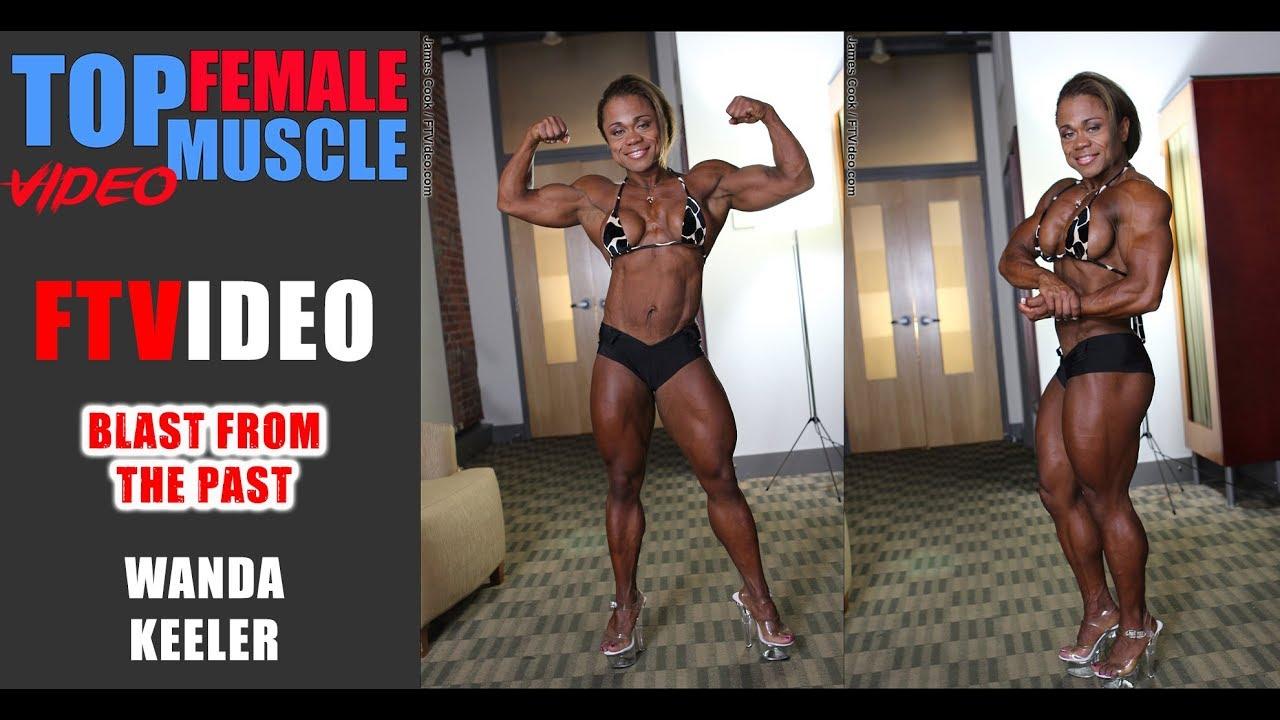 WANDA KEELER - MEGA MUSCLE in a Petite Package - Pure female muscle
