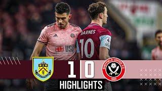 Burnley 1-0 Sheffield United | Premier League Highlights | Ben Mee goal downs Blades