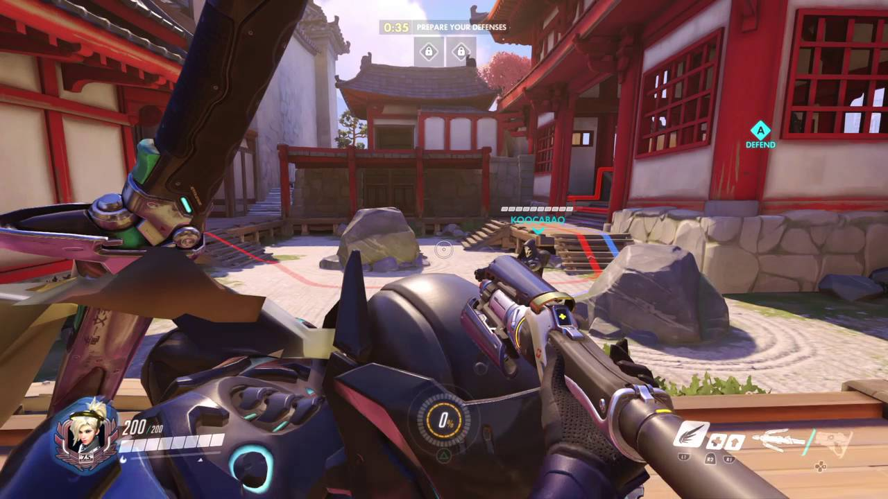 how to kill mercy as genji
