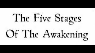 The 5 Stages Of Awakening... By Chris Duane of Greatest Truth Never Told