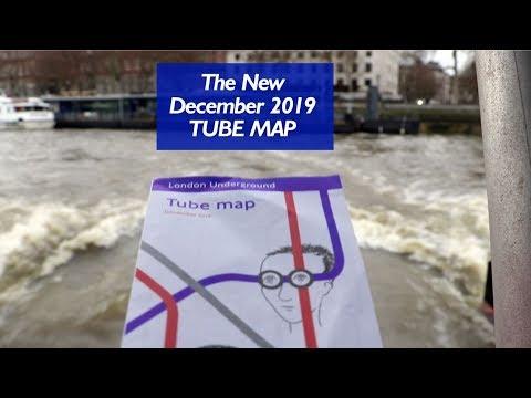 The New December 2019 Tube Map