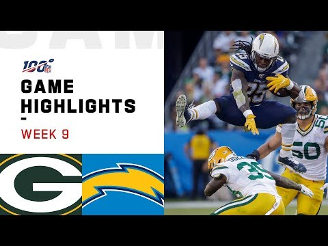 Packers Vs. Chargers Week 9 Highlights | NFL 2019