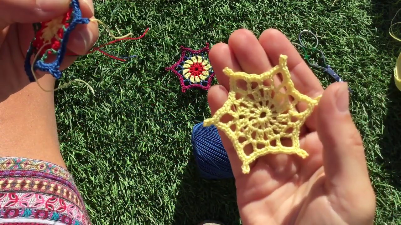 Learn to crochet | Easy crochet star tutorial