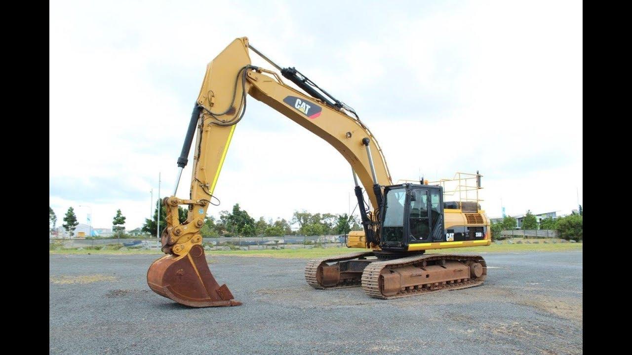 2012 Caterpillar 336DL Hydraulic Excavator (EX35008) - YouTube