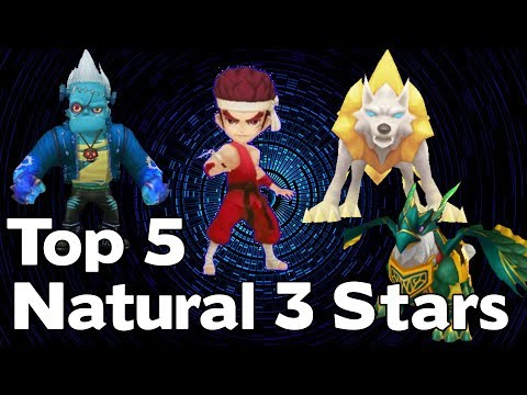 Summoners War - Top 5 Natural 3 Star Monsters - Best Nat 3s
