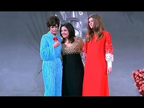 EUROVISION 1969 - Lulu, Salomé, Lenny Kuhr, Frida Boccara - Festival de Eurovisión 69 Madrid España thumbnail