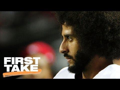 Michael Bennett Compares Colin Kaepernick To Muhammad Ali | First Take | June 15, 2017