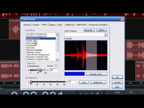 Back To Basics-Setting Up Preferences in Adobe Audition 3