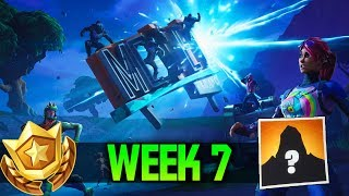 Week 7 FREE Battle Pass Tier in Fortnite (Secret Road Trip Battle Star #7)
