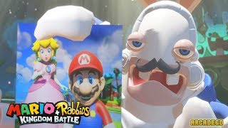 Mario + Rabbids Kingdom Battle - World 3 Spooky Trail Final Boss and Ending