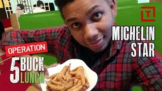 The Cheapest Michelin Star Restaurant in NYC || 5 Buck Lunch