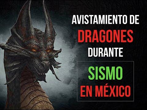 AVISTAMIENTO DE DRAGONES DURANTE EL SISMO DE MÉXICO / Recopilación de artículos del Dragón de DDLA