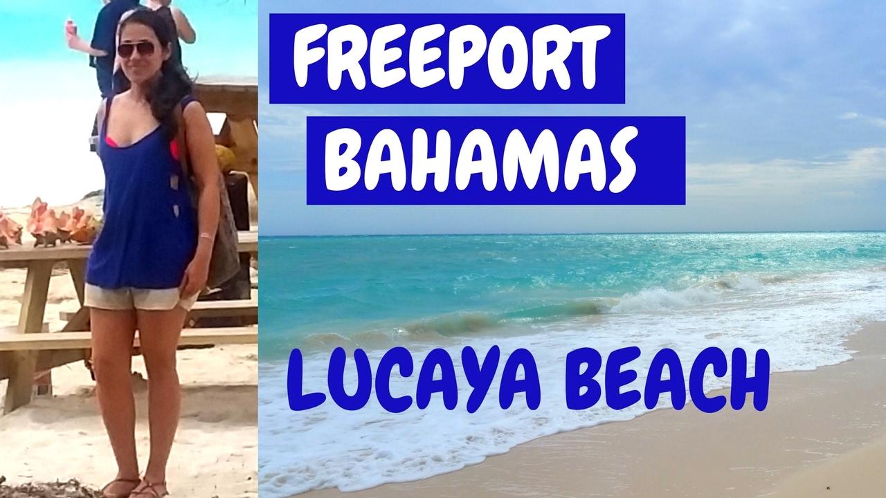 Fun In The Bahamas Lucaya Beach Near Marketplace