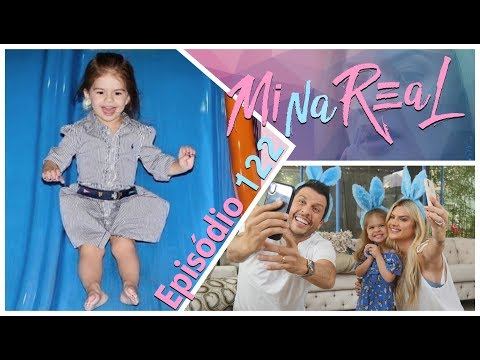 MiNa ReAl | Caça aos ovos de Páscoa  com Valentina e aniversário do Felipinho - Episódio 122