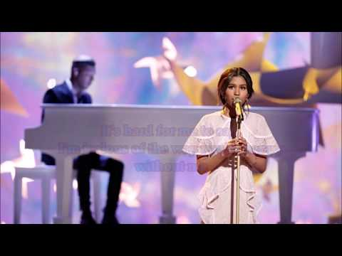 Aliyah Moulden - Jealous (The Voice Performance) - Lyrics