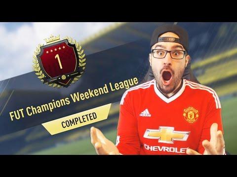 MY #1 IN THE WORLD REWARDS! 40-0 FUT CHAMPIONS! FIFA17