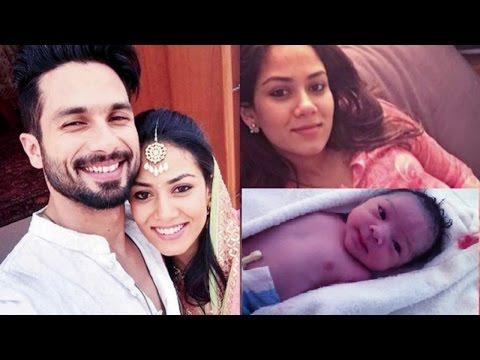 देखिए शाहिद कपूर की बेटी की पहली झलक | REVEALED: Shahid Kapoor-Mira Rajput Baby Daughter First Look