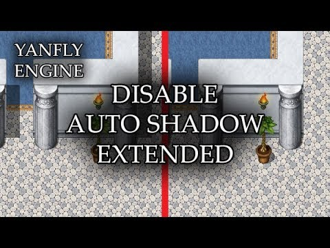 YEP 187 - Disable Auto Shadow Extended - RPG Maker MV
