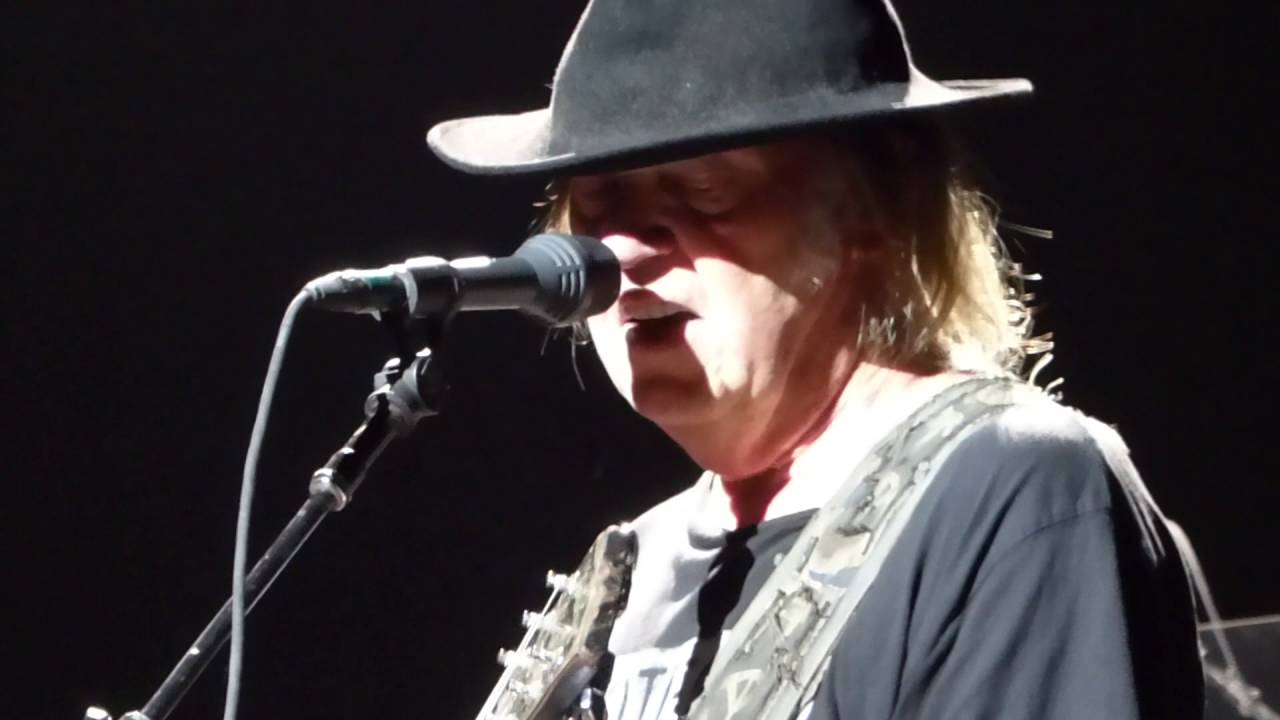 The Loner Neil Young Fox Theater Pomona Ca
