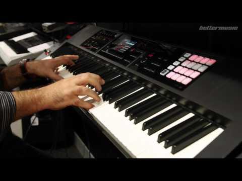 Roland FA-08 | Better Music Demo Video