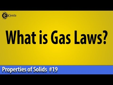 What is Gas Laws?